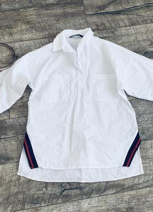 Рубашка zara s-m