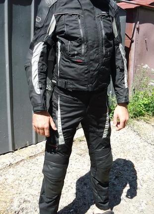 Мотокостюм probiker pr-10 airflow текстильный (m)