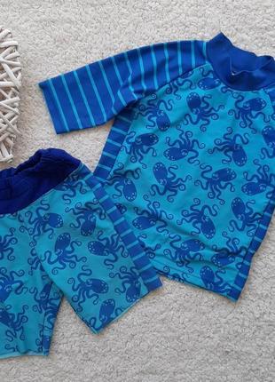Купальный костюм tu для мальчика 12-18 мес рост 80-86 см