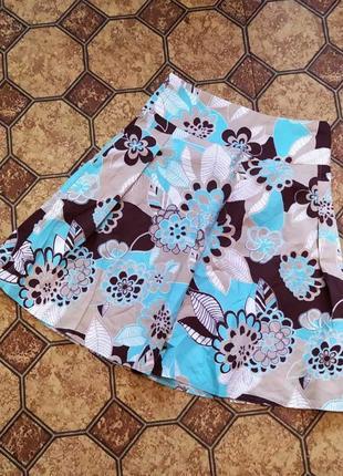 Летняя фирменная юбка