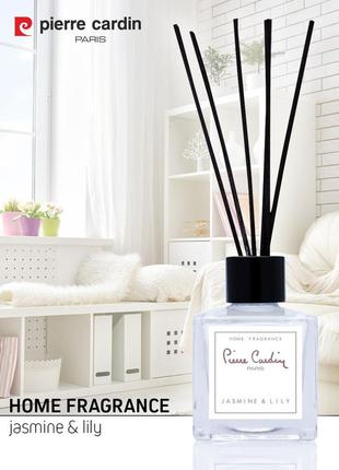 Pierre cardin reed diffuser комнатный ароматизатор jasmine & lily 50 ml
