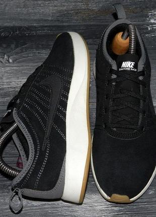 Nike dualtone ! оригинальные, кожаные, стильные невероятно крутые кроссовки