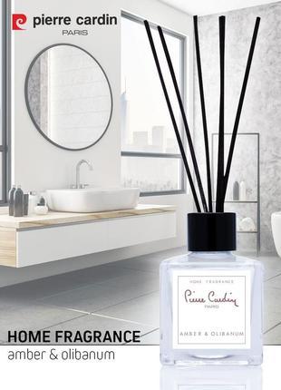 Pierre cardin reed diffuser комнатный ароматизатор amber & olibanum 50 ml