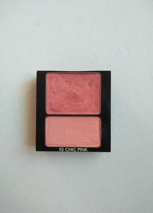 Румяна guerlain  blush duo 02 chic pink