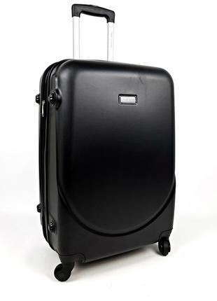 Маленький чемодан на колесах wings,черный