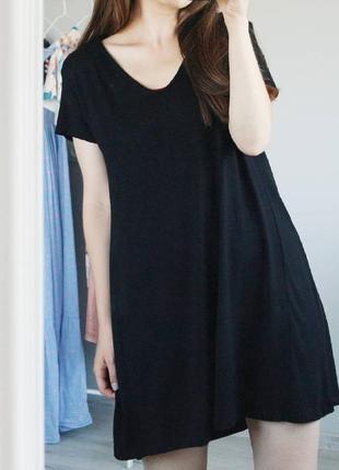 Базовое с иное платье