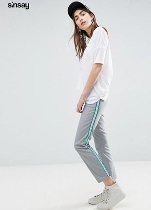 Новые штаны с лампасами sinsay