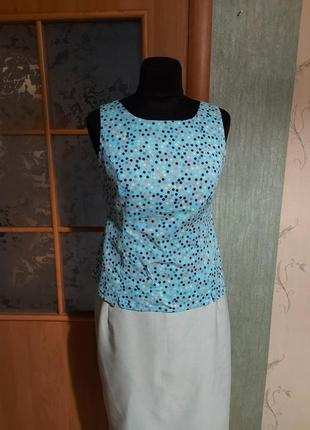 Яркая летняя блуза 100%котон