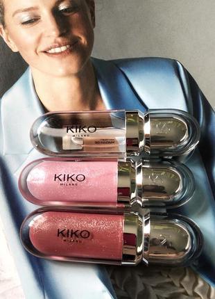 3d hydra lip gloss блеск для губ kiko