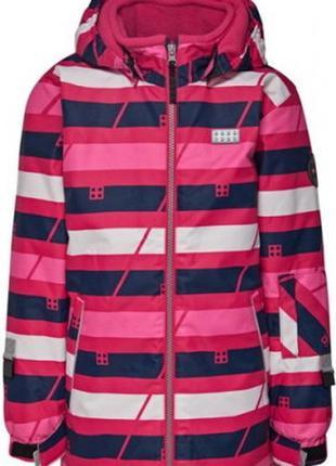 Зимняя детская куртка lego wear для девочек p.140 reima columbia lenne