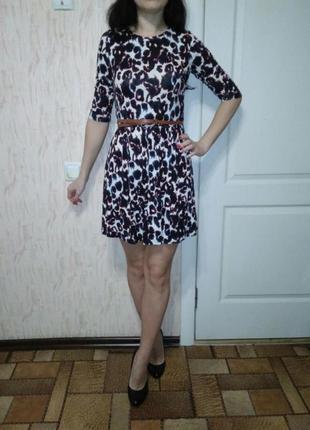 Платье повседневное трикотажное в подарок еще одно платье