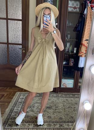 Платье хлопок италия