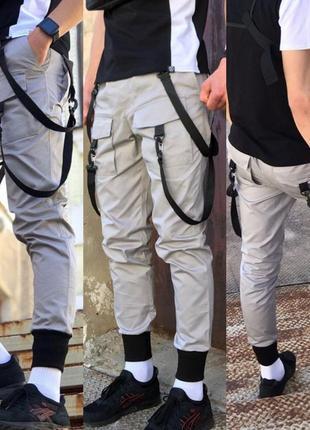 Распродажа. мужские котонновые штаны карго.