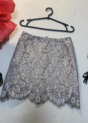 Красивая ажурная юбка,размер xl