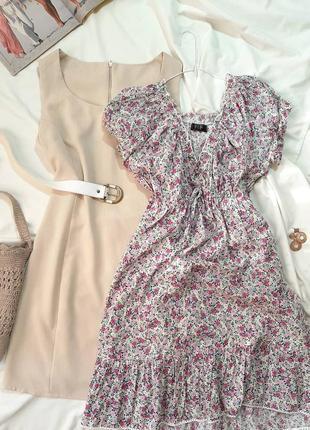 Платье-зефирка из хлопка