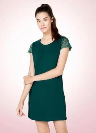 Красивое домашнее платье (ночная рубашка) с кружевом esmara германия