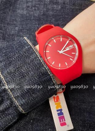 Водонепроницаемые силиконовые часы skmei, оригинал