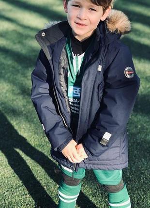 Зимняя мембранная куртка парка lego wear р.104 lenne reima columbia