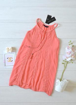 Коралова блуза new look