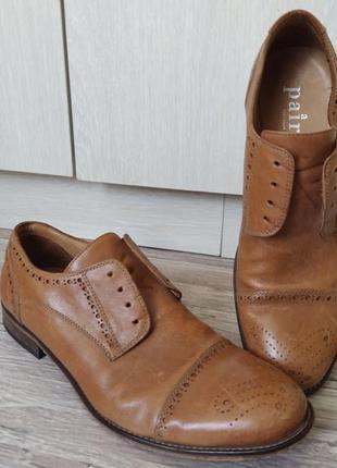 Мужские туфли  оригинал  кожа
