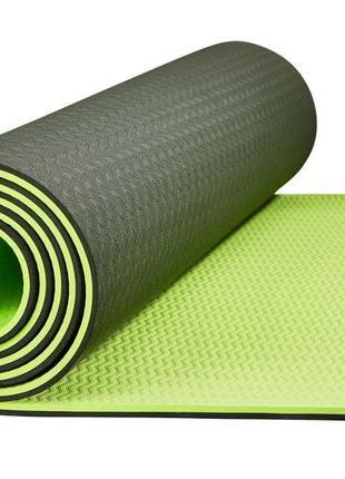 Коврик, мат для йоги и фитнеса skl41-227907