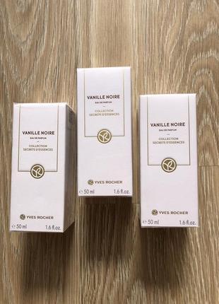 Парфумована вода черная ваниль vanille noire 50 млyves rocher ив роше