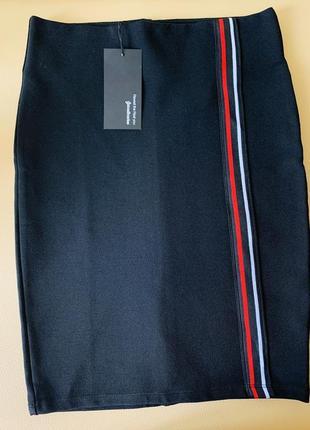 Бандажная юбка карандаш от stradivarius 👠