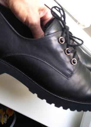 Новые легкие туфли gabor качественная натуральная кожа
