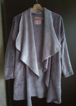 Халат-куртка/плюшевый халат