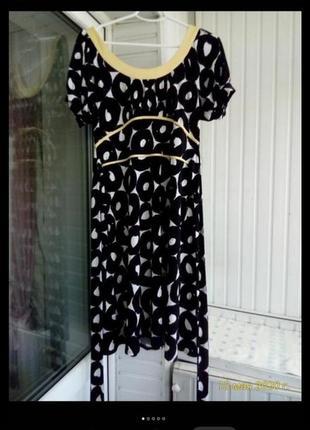 Красивое фирменное  платье большого размера батал