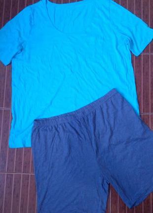 Мужская пижама, комплект для дома livergy р. 56-58 батал! (по замерам идет на 60-62!)