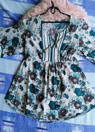 Летняя кофта / блуза maddison, 100% cotton