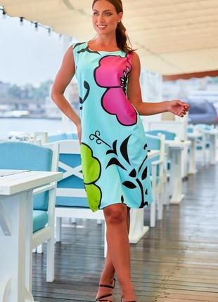 Нежное летнее платье большие размеры