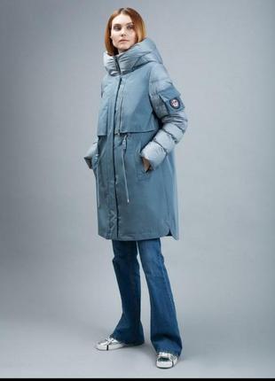 Очень красивая куртка парка clasna р.46-48