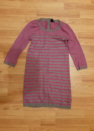 Теплая туника, платье h&m размер 8-10