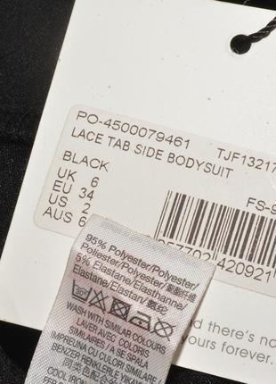 Новое черное боди с рюшами missguided4 фото