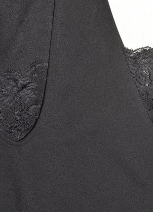 Новое черное боди с рюшами missguided6 фото