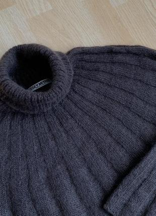 Issey miyake roll neck sweater шерсть мохер гольф япония rick owens