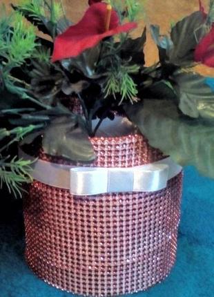 Корзинка цилиндр для декора