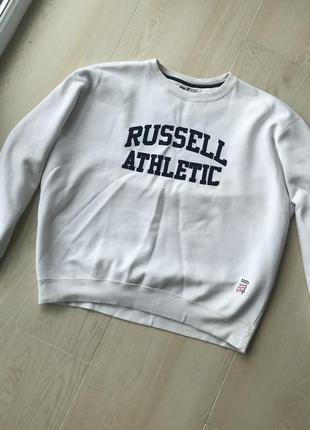 Кофта спортивна russell athletic світер олімпійка спортивная кофта олимпийка свитер