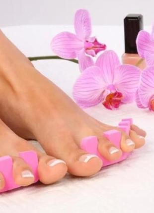 Разделитель для пальцев ног (растопырка для пальцев)из плотной губки