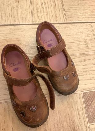 Туфельки clark's