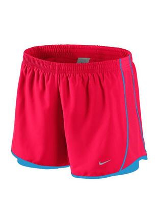 Новые беговые шорты nike 2 in 1 tempo shorts (размер с)