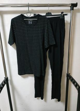 Пижама домашний трикотажный костюм размеры s, м и xxl