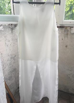 Удлинённая блуза туника