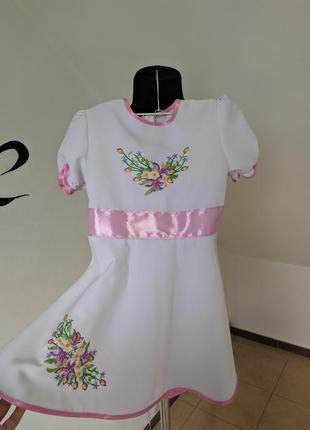 Дитяче  вишите плаття