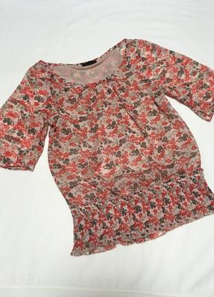 Блуза легкая шифон