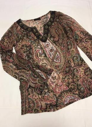 Блуза легкая в восточном стиле