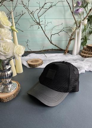 Чёрная кепка, головной убор replay