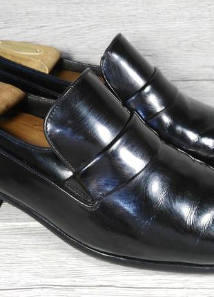 Bally 42p туфли мужские лоферы кожа швейцария